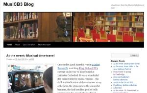 MusiCB3 blog